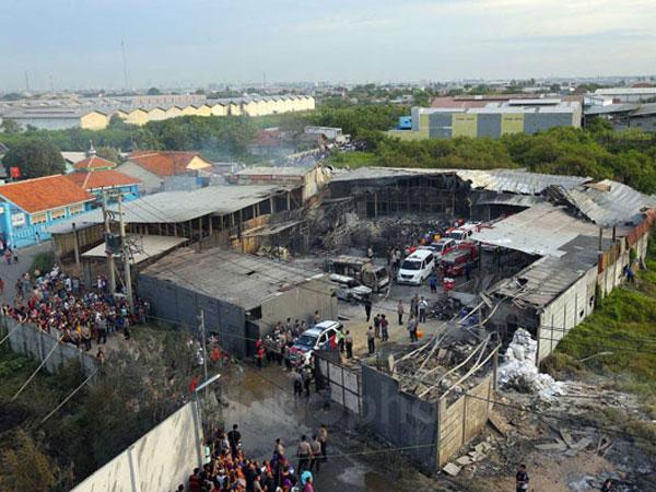 Inikah Penyebab Ledakan Hebat di Pabrik Petasan yang Tewasakan 47 Orang?