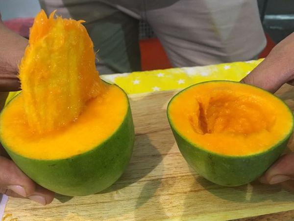 Temuan Kuliner Unik di Penghujung Tahun 2017, Mangga Alpukat