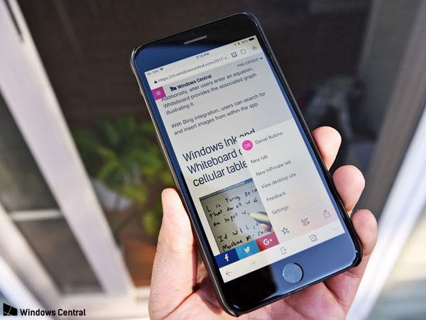 Gagal di Windows Phone, Browser Microsoft Edge Kini Ada di Android dan iOS