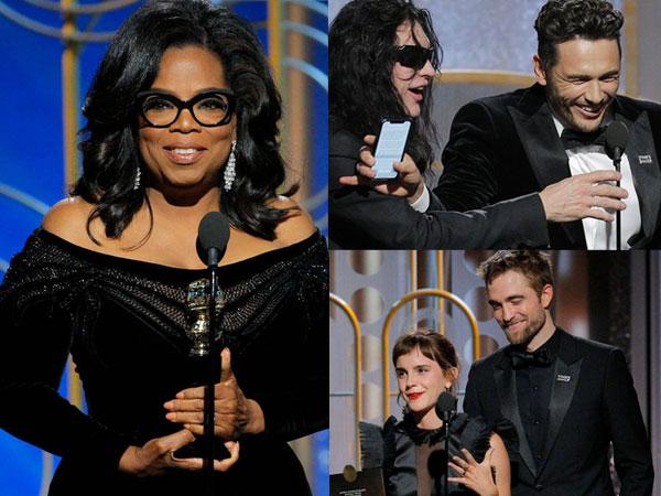 Intip 5 Momen Terbaik di Golden Globes 2018