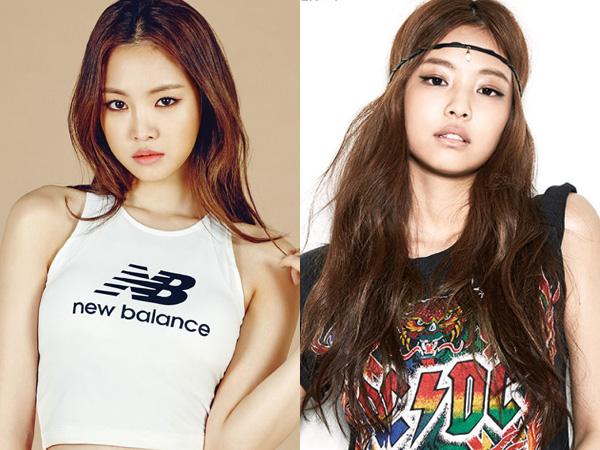 Fans Black Pink dan A Pink Sepakat Sebut Jennie Sebagai Versi 'Bad Girl' dari Naeun?