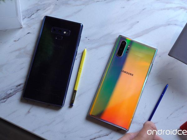 Melihat Perbandingan Duo Galaxy Note 10 yang Baru Rilis dengan Galaxy Note 9