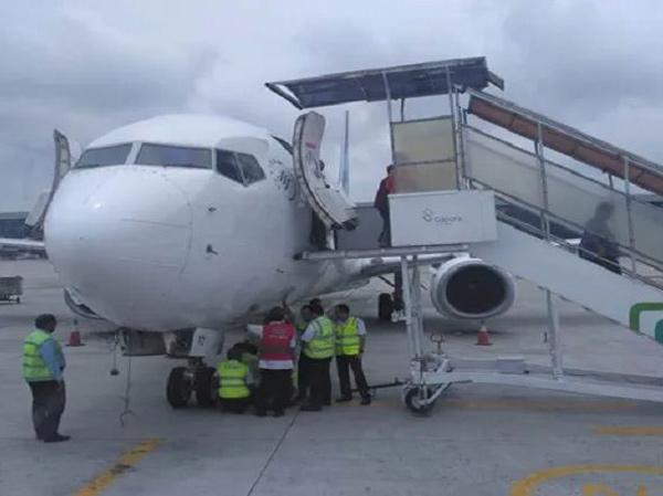 Tercium Bau Terbakar, Pesawat Garuda Tujuan Bangkok Putar Balik ke Bandara Soetta