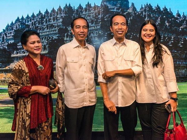 Wah, 'Kembaran' Presiden Jokowi di Museum Madame Tussauds Hong Kong Ganti Baju