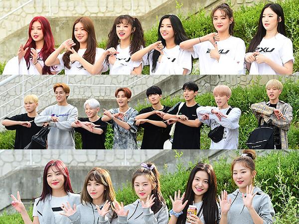 Intip Penampilan Para Idola K-Pop Jalani Syuting 'ISAC 2018'