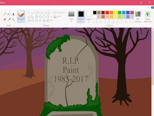 Microsoft Paint 'Mati' Setelah 32 Tahun, Ini Penggantinya di Komputer Windows