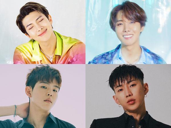 RM dan J-Hope BTS Hingga Paul Kim dan Jay Park Diangkat Jadi Member Tetap KOMCA