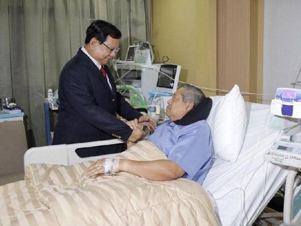 Inilah Penjelasan Mengenai Alat Kesehatan dengan Tulisan 'U Stroke' di Kamar Perawatan SBY
