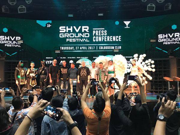 Bersiap Nikmati Sensasi Hiburan Malam Al a Tokyo di SHVR Ground Festival