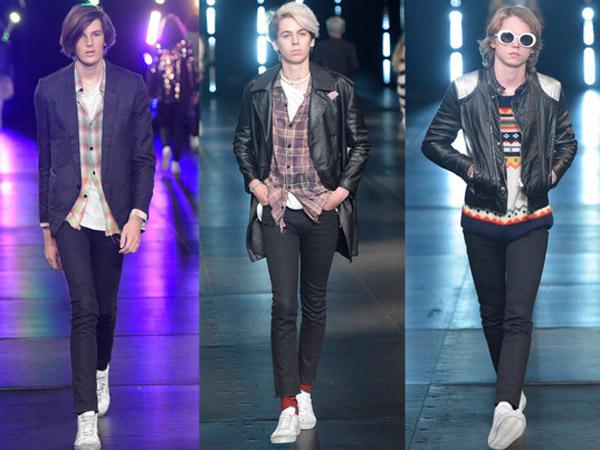 Putera Tampan 3 Aktor Senior Hollywood Debut di Runway Saint Laurent Men's Fashion Week!