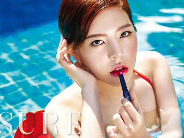 Nikmati Kehangatan Bali, Sunny SNSD Berpose Sensual untuk Pemotretan Majalah