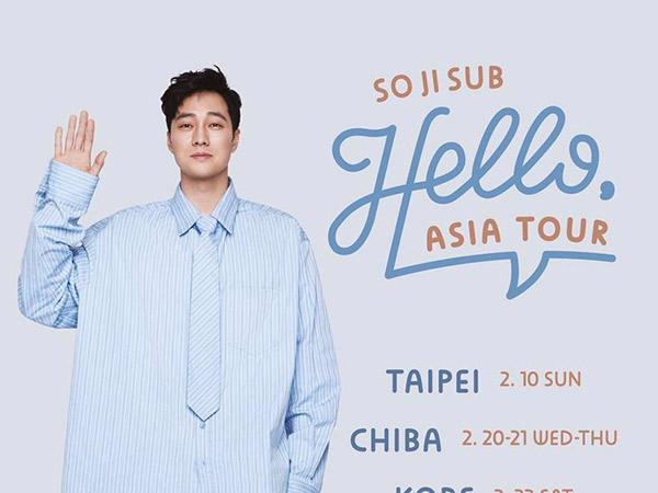 So Ji Sub Kembali Gelar Jumpa Fans di Indonesia Tahun Depan