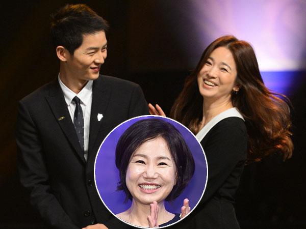 Isi Curhatan Song Hye Kyo ke Penulis Drama 'DOTS' Soal Perubahan Manis Song Joong Ki
