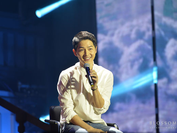 Jika Tak Jadi Aktor, Ini Jawaban Lucu yang Akan Dilakukan Song Joong Ki!
