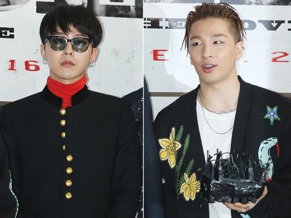 Agensi Beri Kepastian Baru Terkait Wajib Militer Taeyang dan G-Dragon