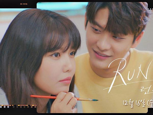 Teaser Drama Korea 'Run On': Sooyoung dan Kang Tae Oh Bangun Kedekatan Lewat Melukis