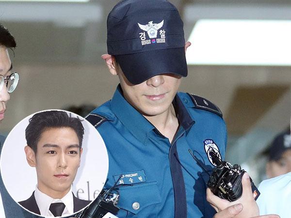 T.O.P Big Bang Dihujani Kritikan Pedas Karena Sikapnya Saat Keluar Kantor Polisi