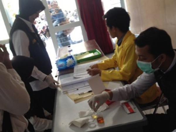 Cegah Narkoba di Kampus, 6 Ribu Mahasiswa Semarang Jalani Tes Urin
