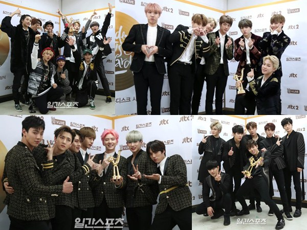 Dominasi SM Entertainment Hingga Bang Shi Hyuk, Berikut Daftar Lengkap Pemenang 'GDA' Hari Kedua!