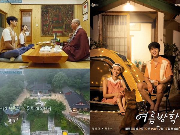 Mengenal Wisata Templestay Korea Ala Jung Yoo Mi dan Choi Woo Sik di Summer Vacation