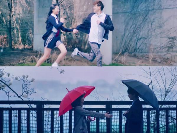 Galaunya Yesung Ingat Pahit Manis Cinta Dikala Hujan di MV 'Paper Umbrella'