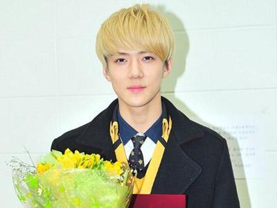 Sehun EXO-K Merasa Sedih dan Bangga Telah Lulus SMA