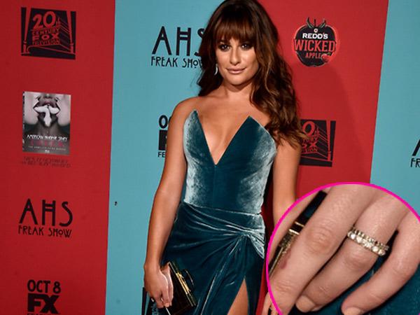 Pakai Cincin di Jari Manis, Lea Michele Segera Menikah?