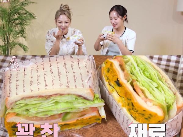Resep Sandwich Labu Manis Ala Yuri SNSD, Sangat Mengenyangkan!