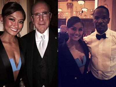Agnes Monica Tampil Seksi di Pre Event Grammy Awards 2014!