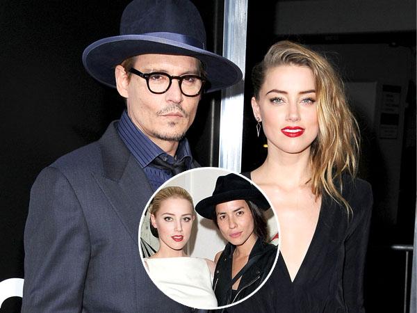 Sebelum Menikah dengan Johnny Depp, Amber Heard Pernah Nikahi Pacar Wanitanya?