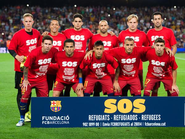 Selain Real Madrid, Barcelona Juga akan Bantu Pengungsi Suriah
