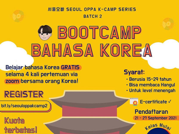 Belajar Bahasa Korea Semakin Mudah dengan Seoul Oppa K-Camp Series, GRATIS!