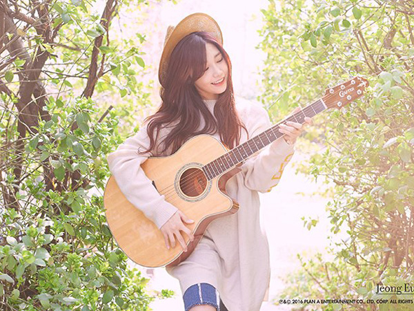 New Single: Jung Eunji - 'Hopefully Sky'