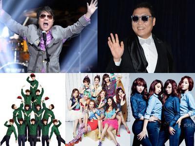 Siapakah Penyanyi Korea Selatan Paling Bersinar di Tahun 2013?