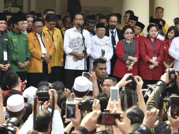 Pesan Penting Jokowi Saat Mendaftar ke KPU Bersama Cawapres Ma'ruf Amin