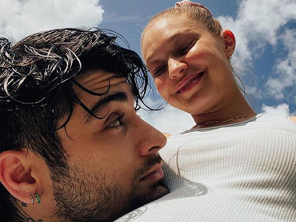 Gigi Hadid Bagikan Foto Saat Kehamilan dengan Zayn Malik