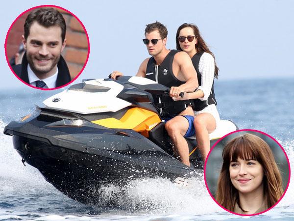 Wah, Jamie Dornan dan Dakota Johnson Bulan Madu ke Perancis di 'Fifty Shades Freed'!