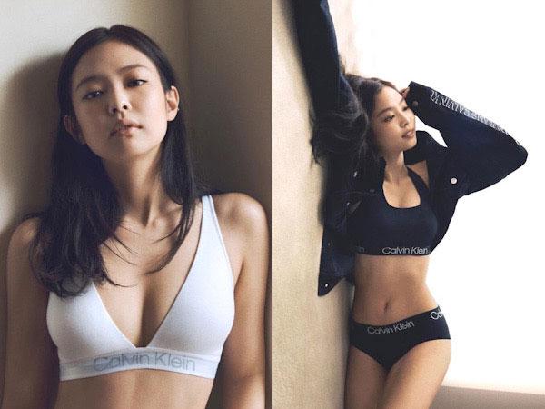Jennie BLACKPINK Pamer Body Goals Seksi di Pemotretan Calvin Klein