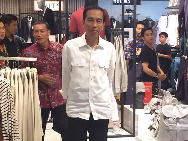 Heboh Presiden Jokowi Jalan-Jalan Akhir Pekan di Grand Indonesia