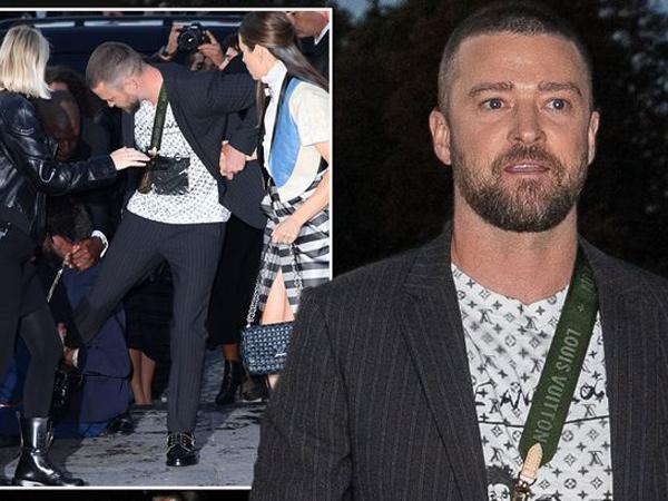 Justin Timberlake Mendadak Diserang Seorang Pria Saat Hadiri Paris Fashion Week