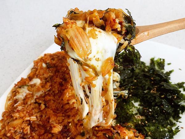 Simak Resep Mudah Bikin Nasi Goreng Kimchi Keju Ala P.O Block B di 'Kang's Kitchen 2'