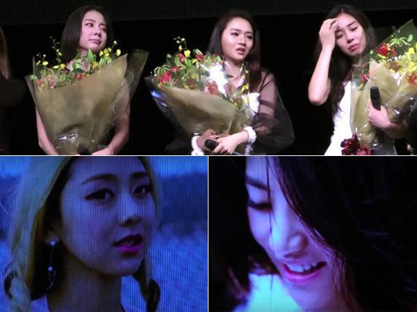 Momen Penuh Haru Warnai Konser untuk Mengenang Mendiang EunB dan RiSe Ladies Code