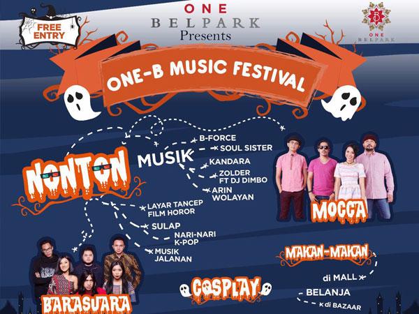 Yuk Rasakan Sensasi Pesta Musik Paling Seru Tahun ini di 'One-B Music Festival'!