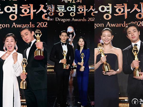 Yoo Ah In Aktor Terbaik, Daftar Lengkap Pemenang Blue Dragon Film Awards