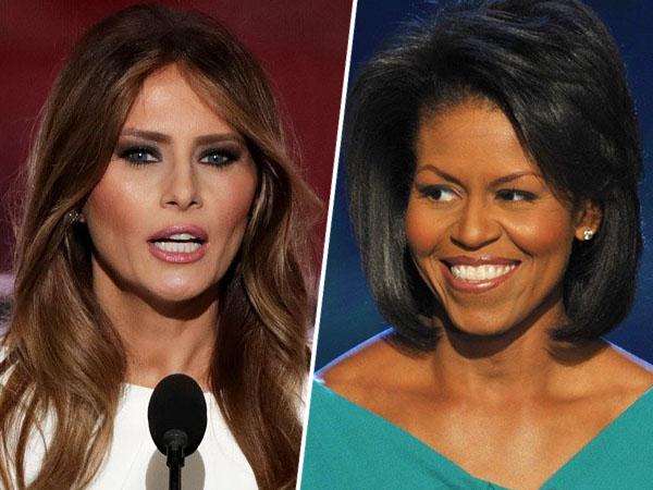 Istri Donald Trump Ketahuan Jiplak Pidato Michelle Obama