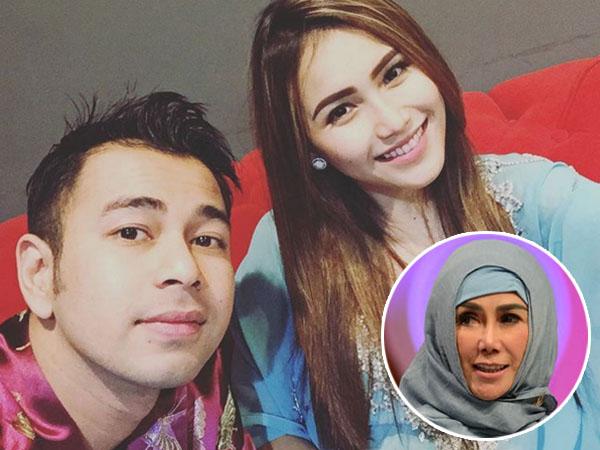Anaknya Dirumorkan Cium Ayu Ting Ting di Pesawat, Ini Penjelasan Ibu Raffi Ahmad