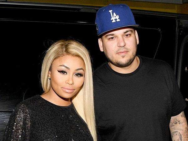 Hubungan Tak Direstui, Rob Kardashian Malah Hamili Blac Chyna?