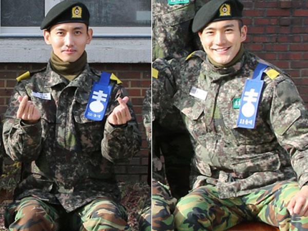 Manisnya, Siwon dan Changmin Dalam Foto Terbaru yang Dirilis Situs Resmi Tentara Korea