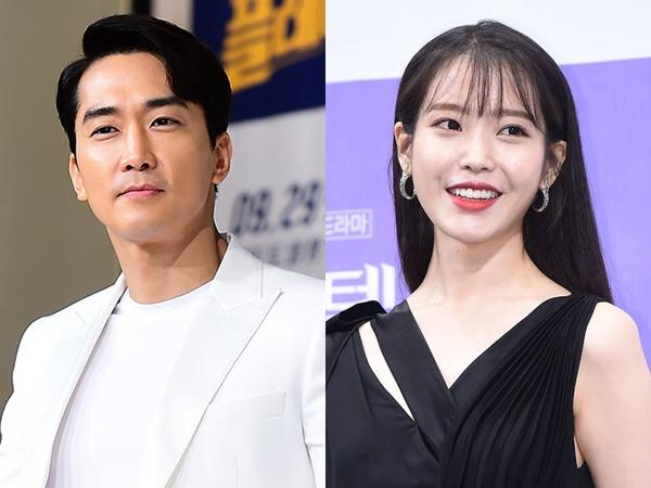 Jadi Ketua Fanbase, Song Seung Heon Kirim Dukungan untuk IU dan Drama 'Hotel del Luna'