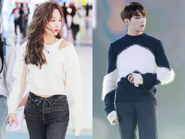 Inilah 6 Style Idola K-Pop Pakai Sweater yang Bisa Kamu Tiru